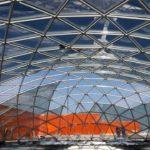 Купол из бронированного стекла