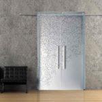 Узорчатое стекло стеклянные двери