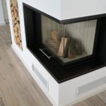 Жаропрочное стекло для камина