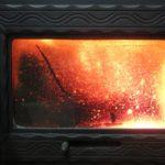 Жаропрочное стекло для печки