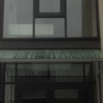 Крыша из закаленного стекла