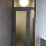 Двери из алюминия системы КП45