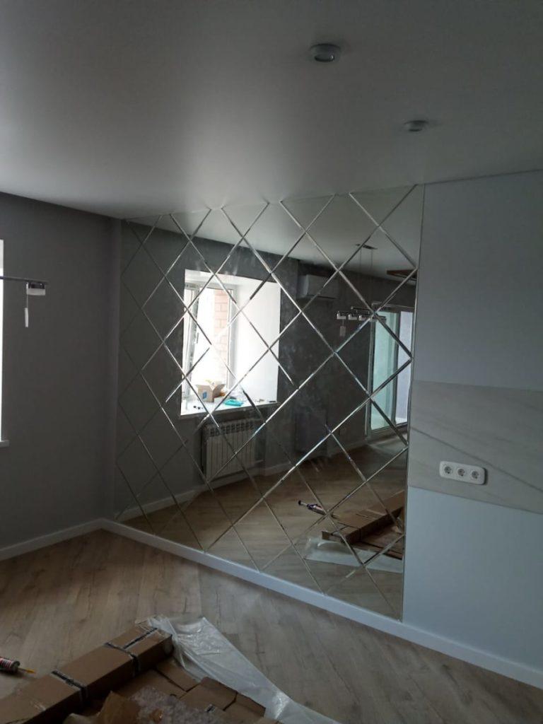 Изготовление зеркала в комнату